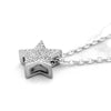 Star Simulated Diamond Minimalist Pendant