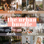 Machedavvero Lightroom Presets - THE URBAN BUNDLE: City + Coffee + Dark + Whites