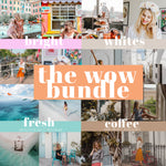WOW Bundle - BRIGHT + WHITES + FRESH + COFFEE ad un prezzo speciale