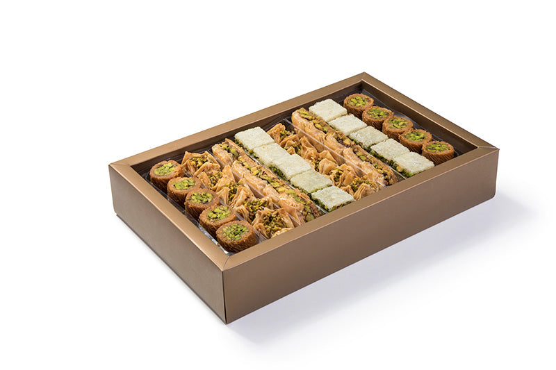 Assorted Baklava Pistachio 1500 g Box