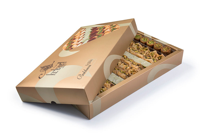 Assorted Baklava Pistachio 2000 g Box