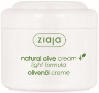 Natural olive cream light formula