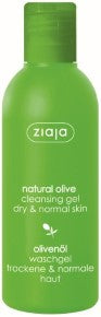 Olive oil cleansing gel