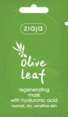 Olive leaf regenerating face mask