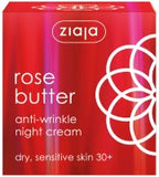 Rose butter anti-wrinkle night cream