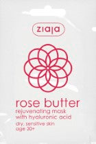 Rose butter rejuvenate face mask