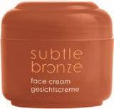 Subtle bronze face cream