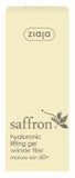 Saffron hyaluronic lifting gel