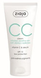 CC cream irritated sensitive skin SPF 10