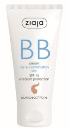 BB cream - oily combination skin - dark/peach tone
