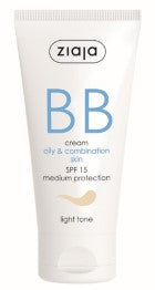 BB cream - oily combination skin - light tone