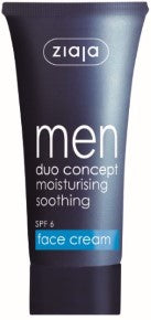 Men face cream SPF 6
