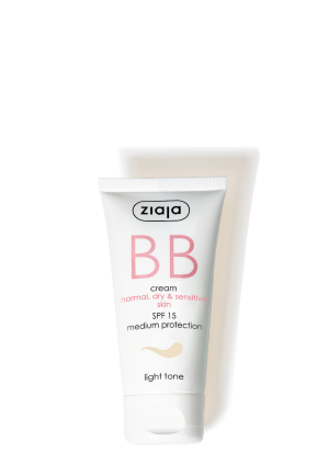 BB cream - normal, dry, sensitive skin - light tone