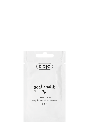 Goat´s milk face mask
