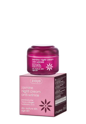 Jasmine night cream anti-wrinkle