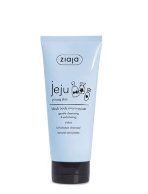 jeju black body micro-scrub