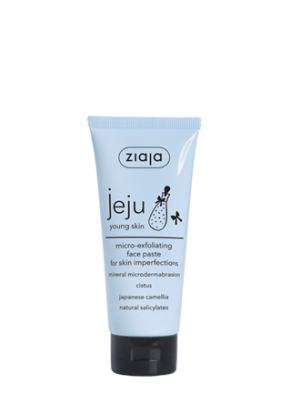 jeju micro-exfoliating face paste