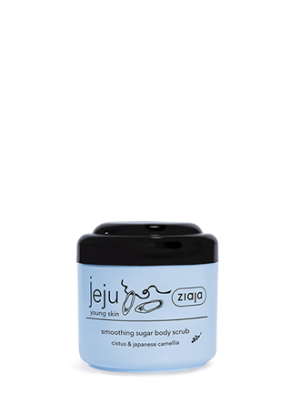 jeju smoothing sugar body scrub