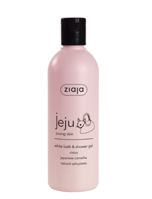 jeju white bath & shower gel