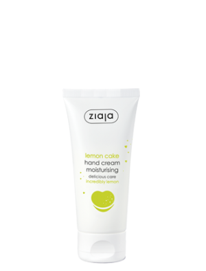 Lemon cake hand cream
