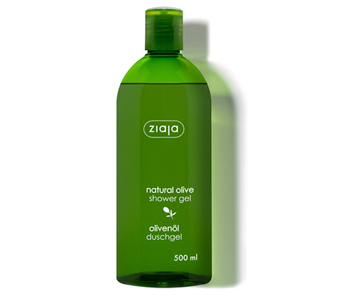 Olive oil shower gel