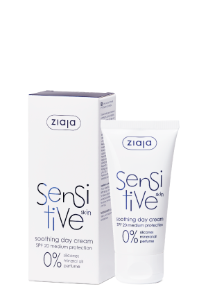 Sensitive skin soothing day cream