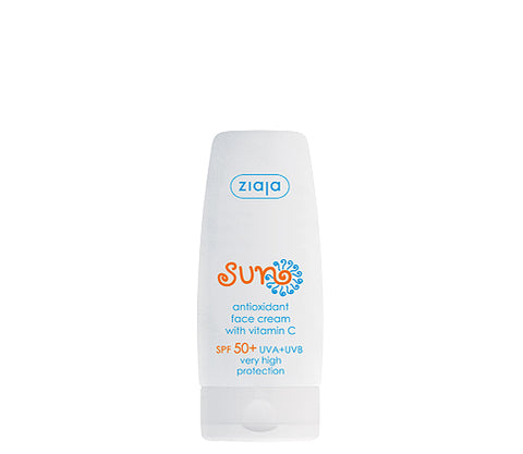 Sun Antioxidant face cream SPF 50+