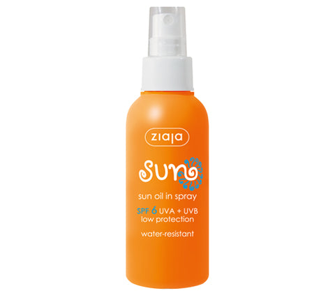 Sun oil in spray 6 SPF
