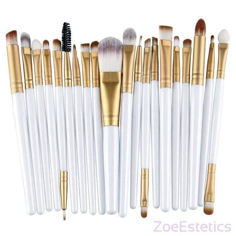 20-djelni Set Četkica-Makeup Brush-ZOEESTETICS-ZOEESTETICS