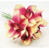 Dekorativne Orhideje-Decorative Flowers & Wreaths,Orchid-ZOEESTETICS-light rose red-ZOEESTETICS