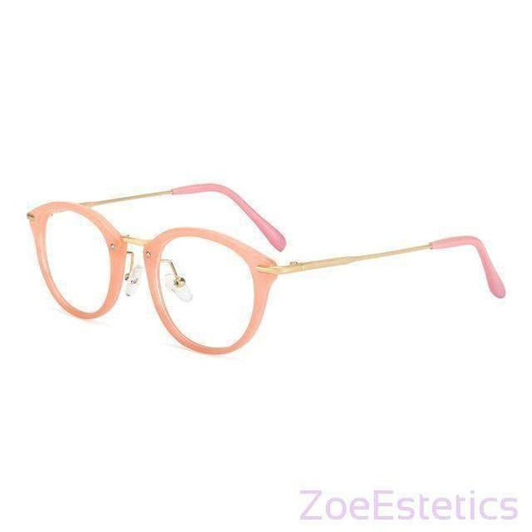 ROYAL GIRL Naočale Visoke Kvalitete-Eyewear Accessories-ZOEESTETICS-Pink-Frame-ZOEESTETICS