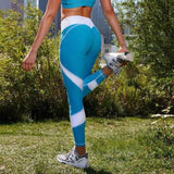 Sportske Tajice 2018-Leggings-ZOEESTETICS-blue-S-ZOEESTETICS