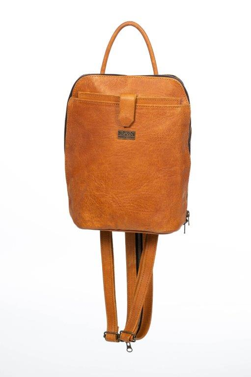 TAN Olivia Leather Backpack
