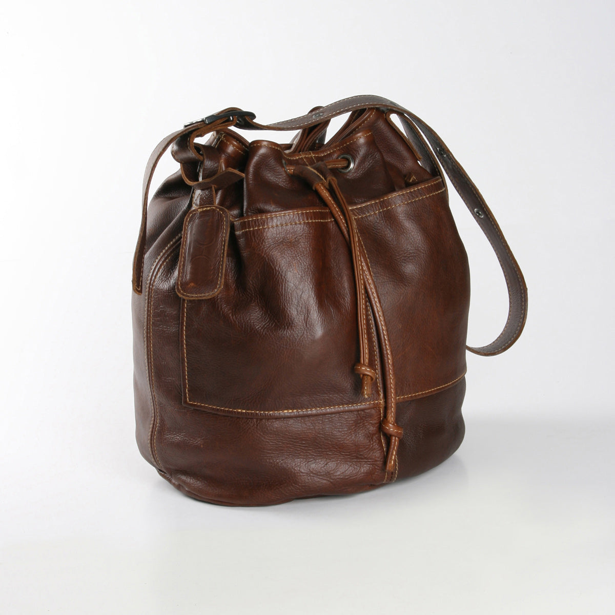 Thandana Bucket Sling Bag - Brown - Zufrique Boutique