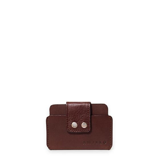 Antelo Eric Credit Card Pouch - Brown - Zufrique Boutique