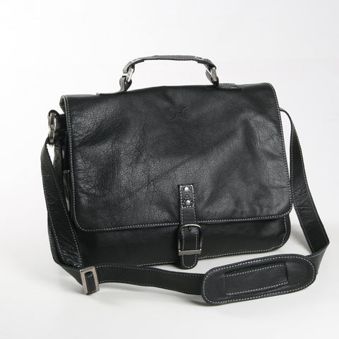 Thandana Work Satchel - Black - Zufrique Boutique