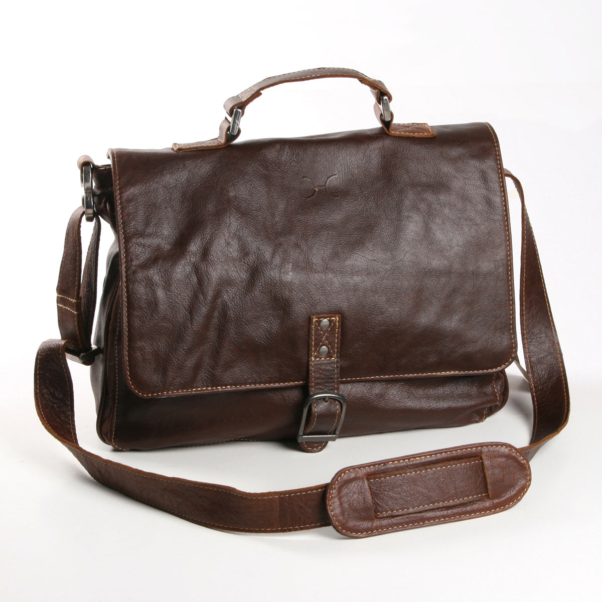 Thandana Work Satchel - Brown - Zufrique Boutique