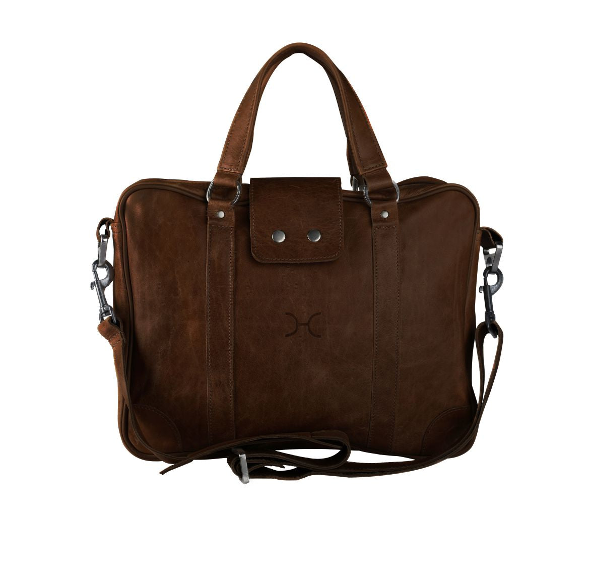 Thandana Laptop Bag - Brown - Zufrique Boutique