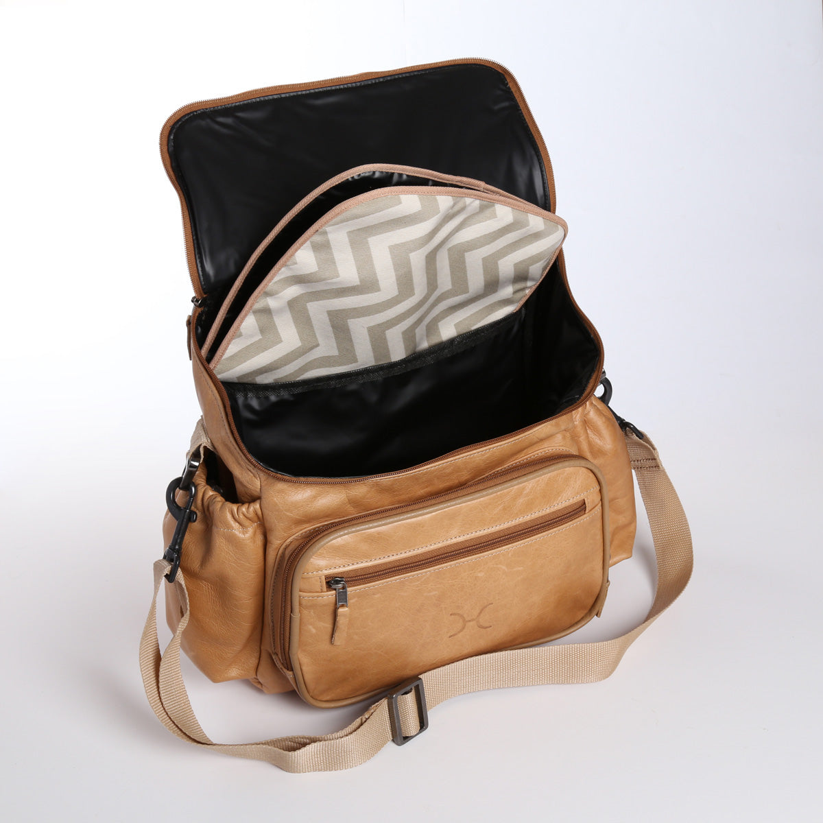 Thandana Nappy Backpack - Hazelnut - Zufrique Boutique
