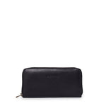 Antelo Hayley Zip Around Wallet - Black - Zufrique Boutique
