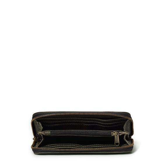 Antelo Hayley Zip Around Wallet - Olive - Zufrique Boutique