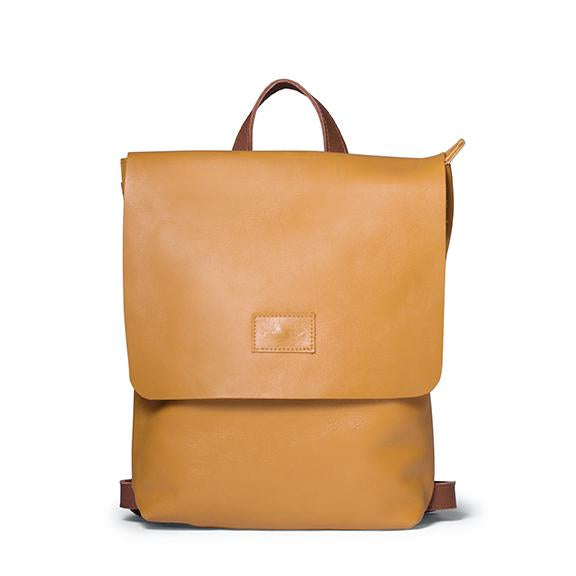 Antelo Henry Backpack - Mustard and Tan - Zufrique Boutique