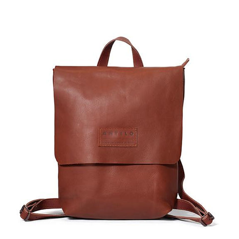 Antelo Henry Backpack - Tan and Barcelona Tan - Zufrique Boutique
