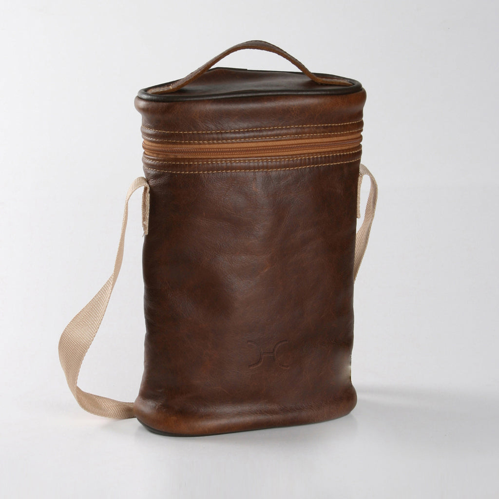 Thandana Wine Cooler Bag - Brown - Zufrique Boutique
