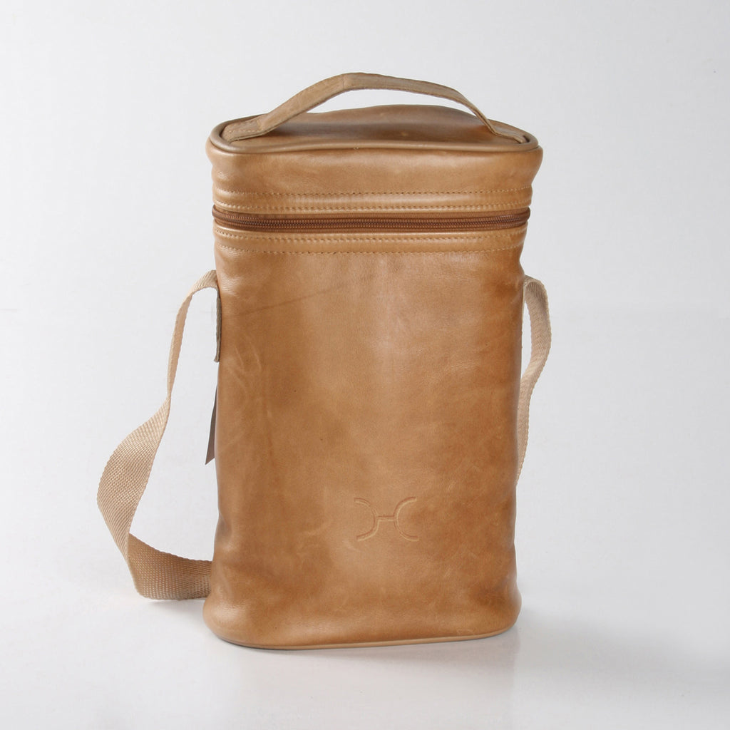 Thandana Wine Cooler Bag - Hazelnut - Zufrique Boutique