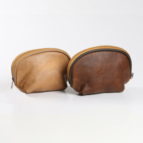 Thandana Cosmetic Bag - Dark brown - Zufrique Boutique