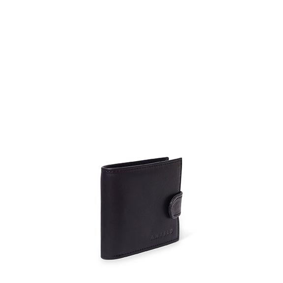 Antelo James Mens Bifold Wallet - Black - Zufrique Boutique