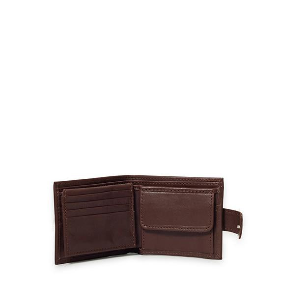 Antelo James Mens Bifold Wallet - Brown - Zufrique Boutique