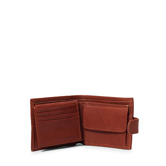 Antelo James Mens Bifold Wallet - Tan - Zufrique Boutique