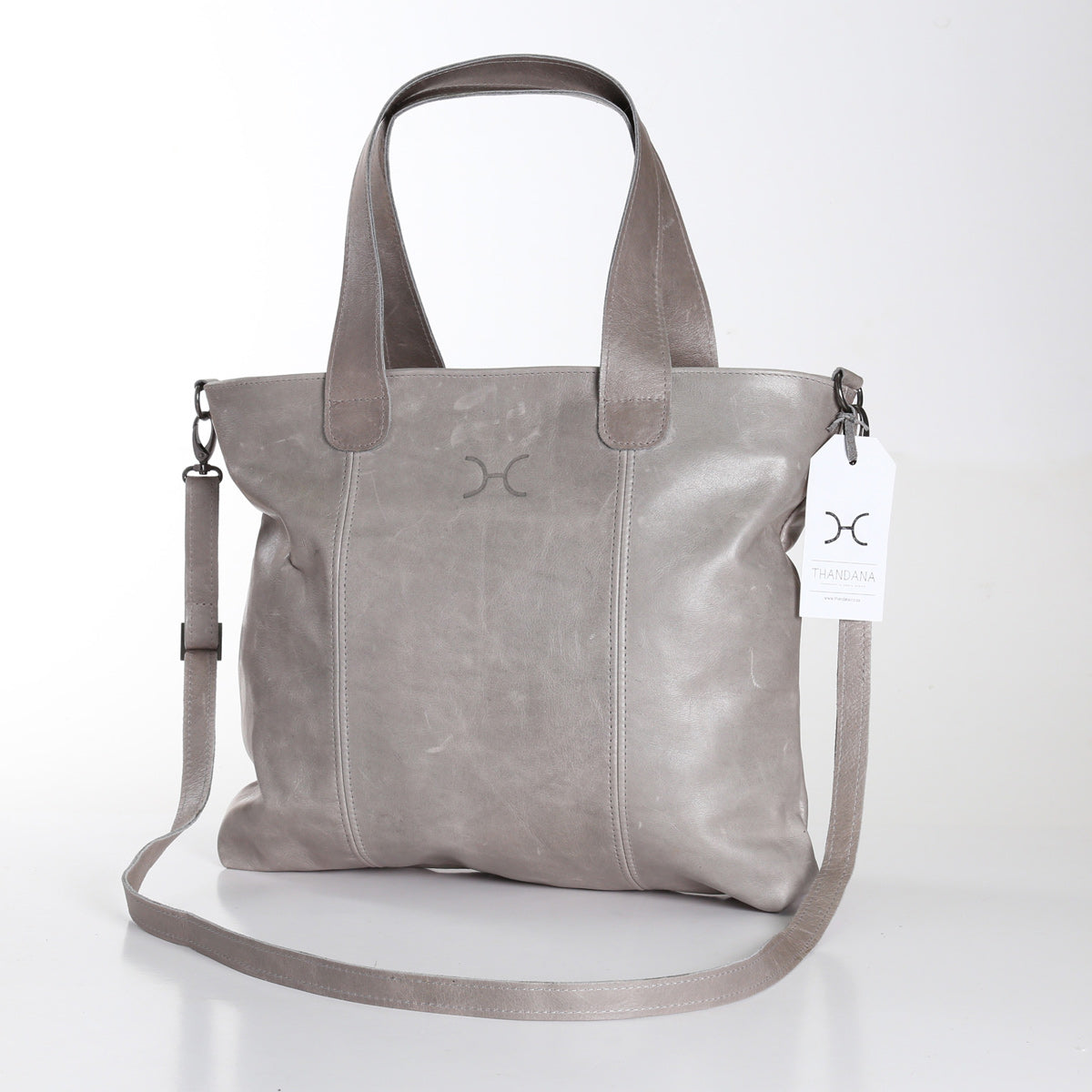 Thandana Jax Handbag - Grey - Zufrique Boutique
